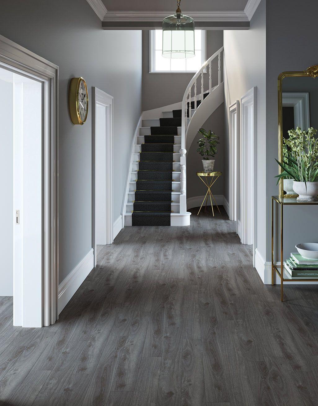 Prestige Grey Oak Laminate Flooring, Laminate Flooring Dark Grey