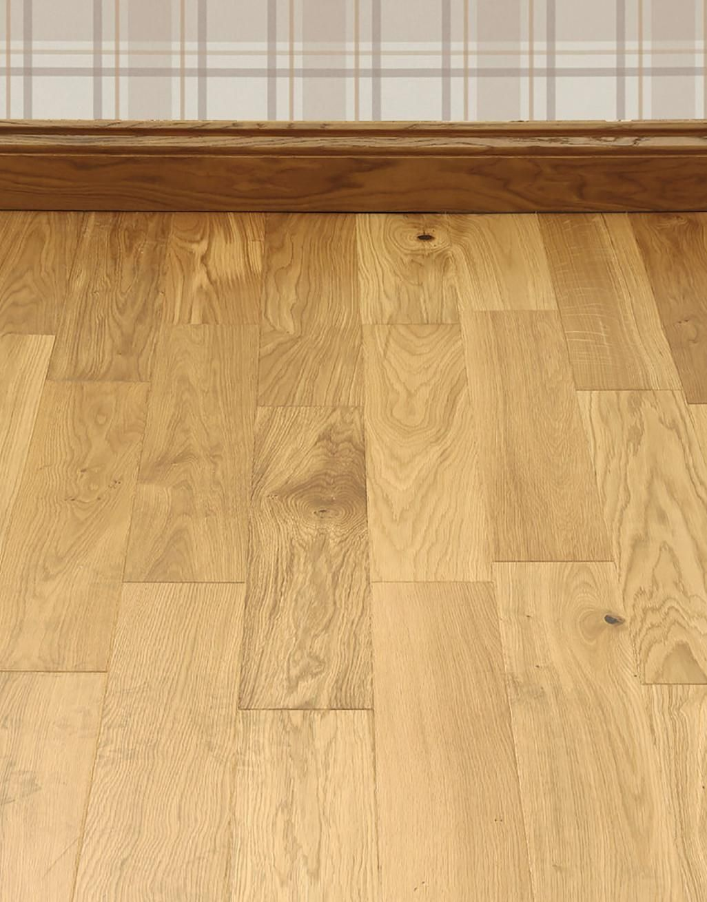 Carpenters Choice Oak 135mm Wide Lacquered Engineered Wood