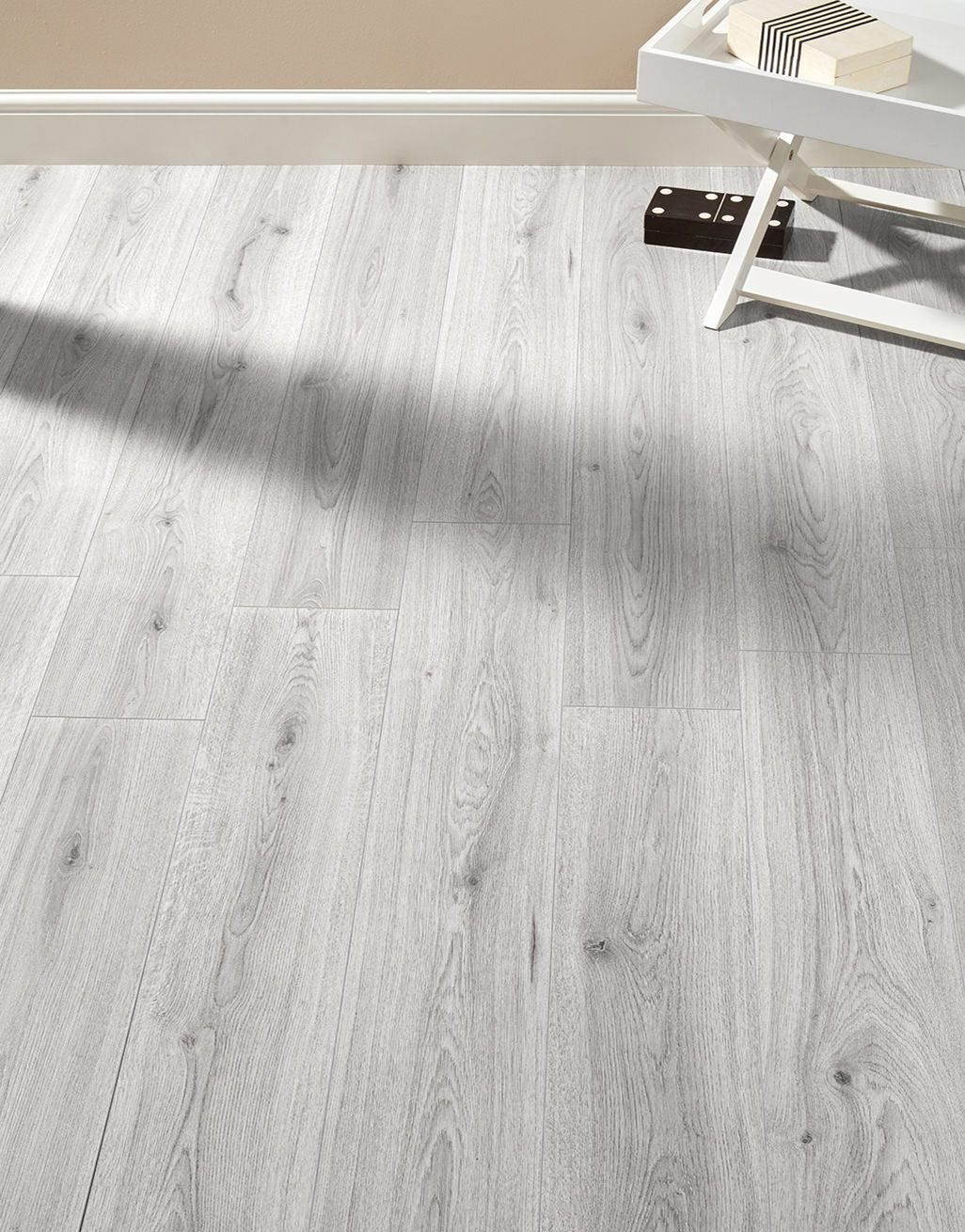 Farmhouse Light Grey Oak Laminate Flooring Flooring