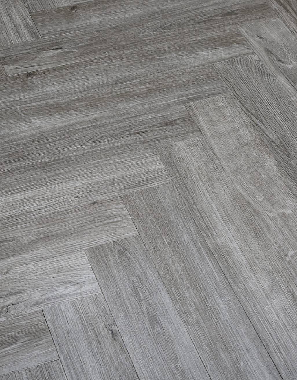 Herringbone Grey Oak Lvt Flooring