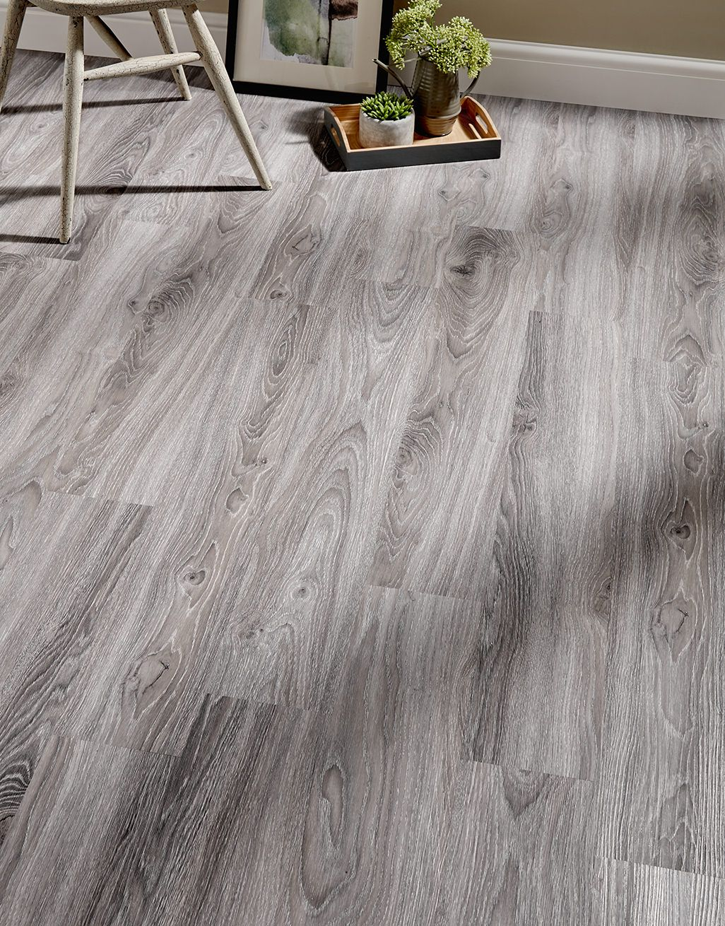 Grey Oak Luxury Vinyl Tile Flooring