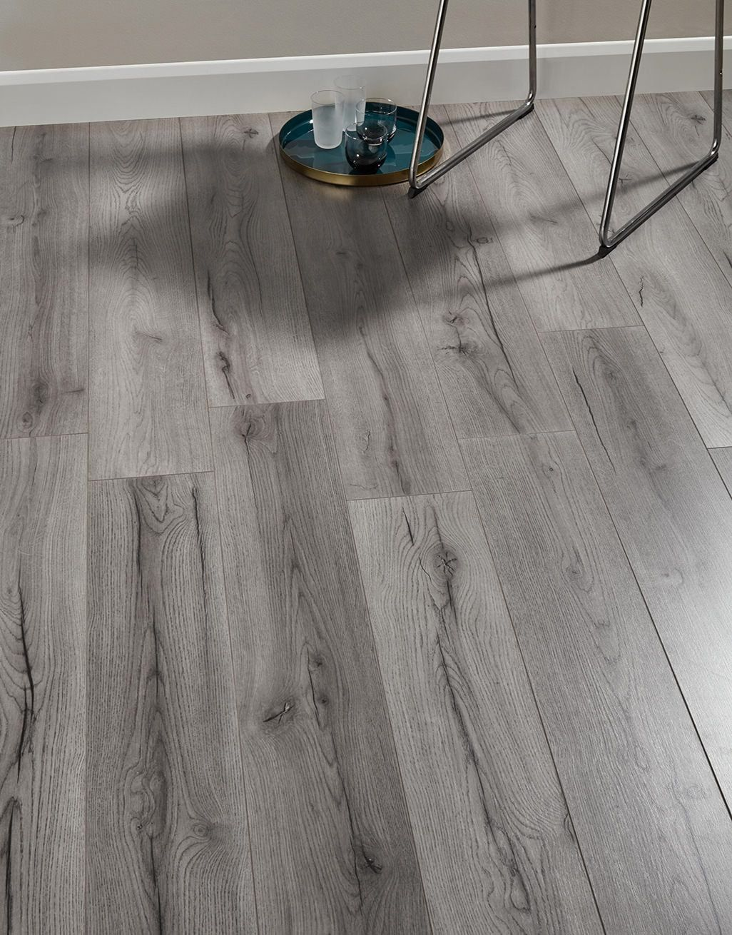 Loft Dark Grey Laminate Flooring