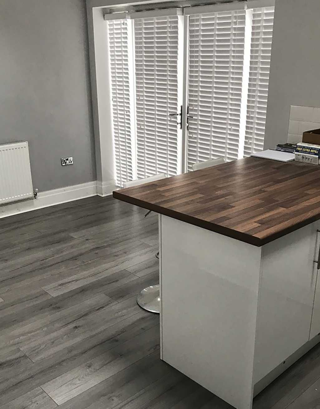 Loft Dark Grey Laminate Flooring