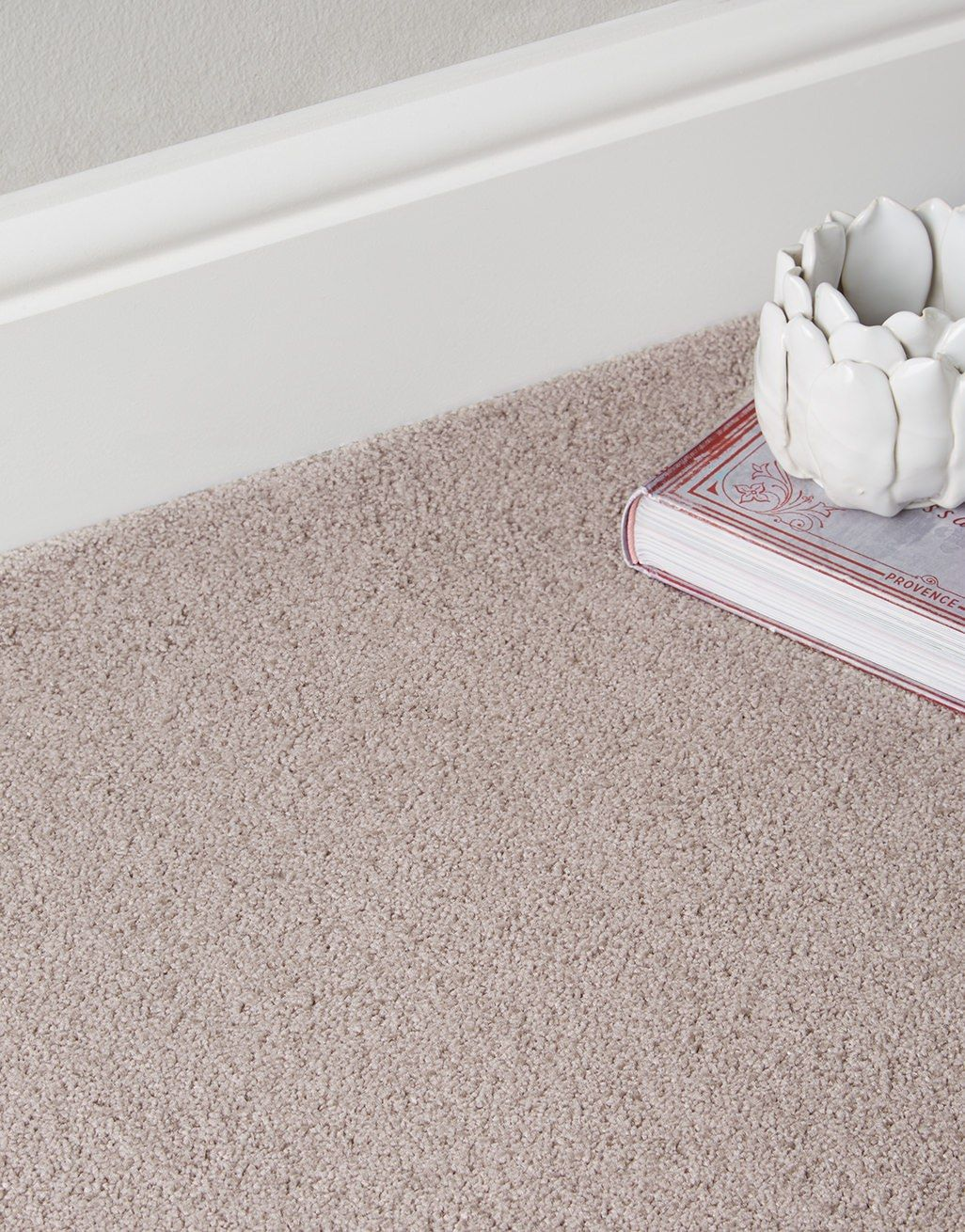 Heavy Domestic Dense 50oz Light Brown Action Backed 4m Wide Carpet