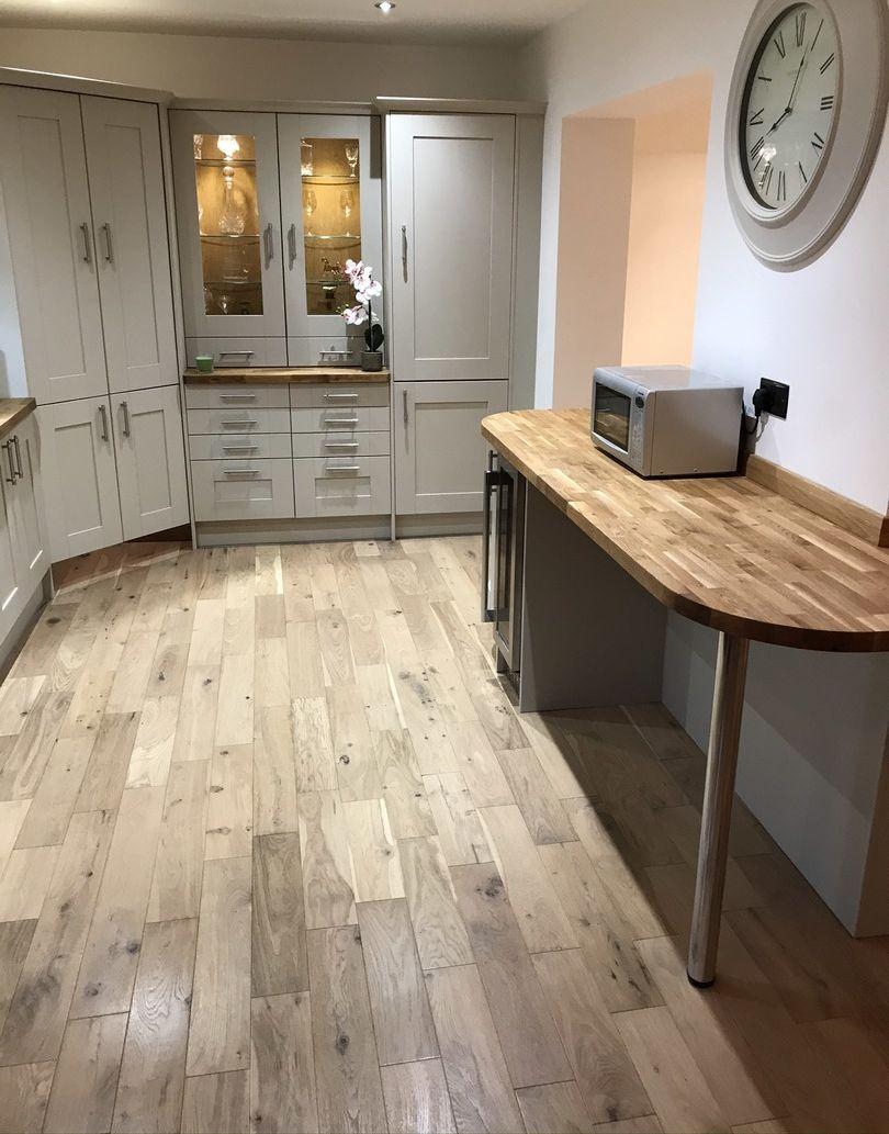 Studio Vanilla Oak Brushed & Oiled Engineered Wood Flooring