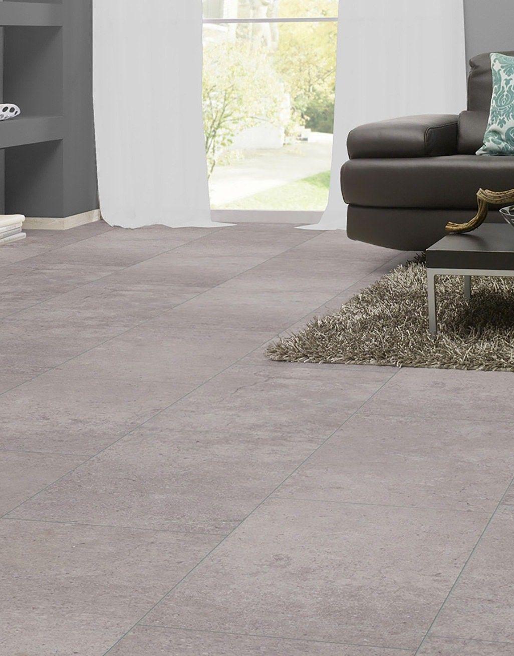 Verona Tile Concrete Laminate, Cement Effect Laminate Flooring