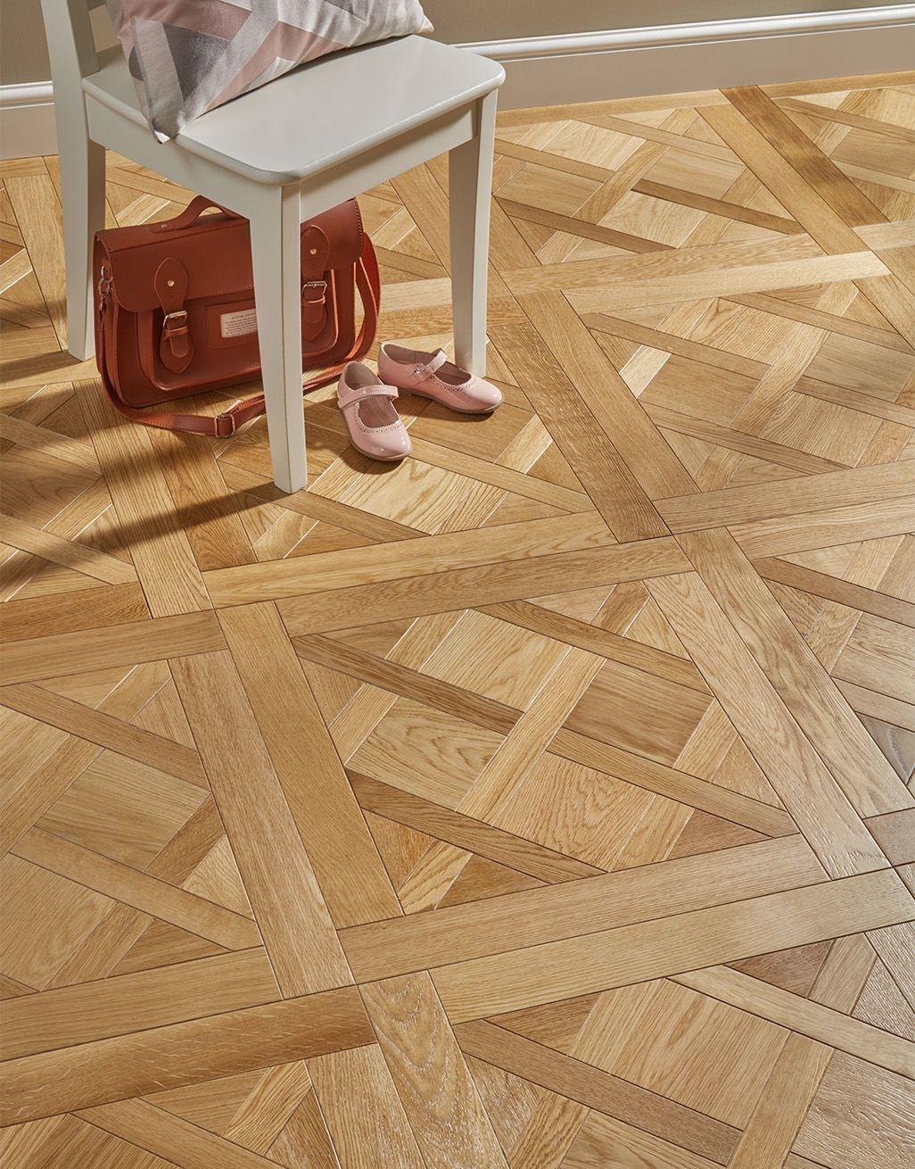 Avignon Natural Oak Brushed & Oiled Versailles Tile ...