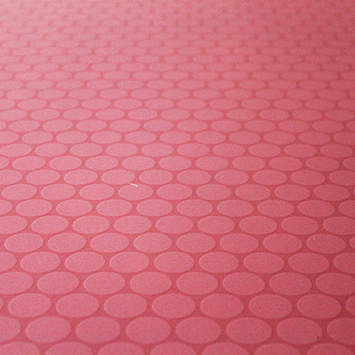 Pink Polka Dots Non Slip Vinyl Flooring Kitchen Bathroom