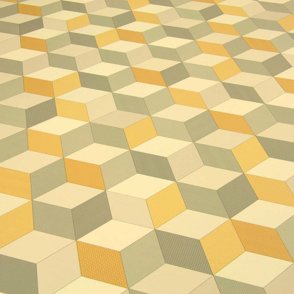 Yellow Kitchen Tiles Uk: 2/3/4M Wide High Quality Vinyl Flooring, Different Designs