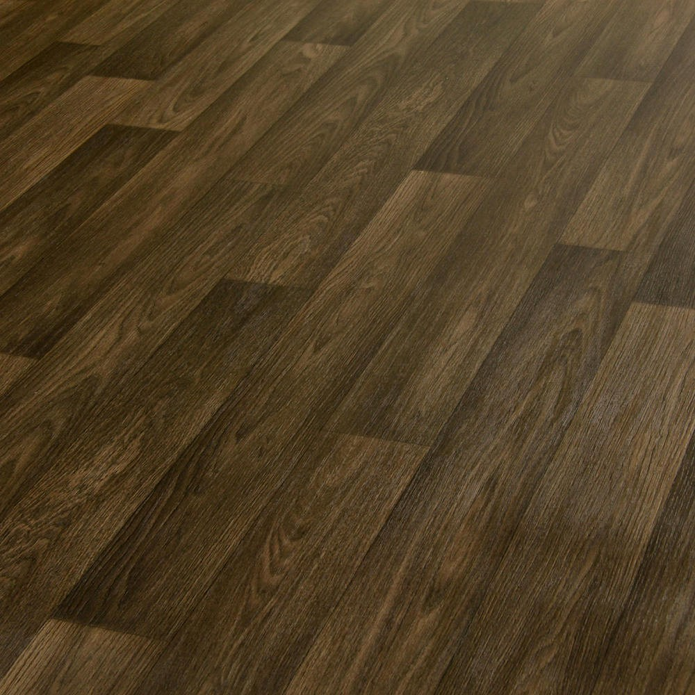 3m wide high quality vinyl flooring dark wood designs