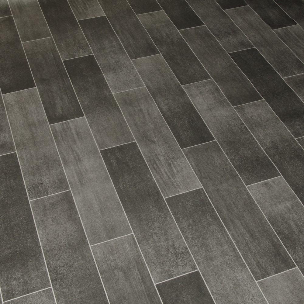Vinyl Floor Tile Designs : M wide high quality vinyl flooring dark tile designs