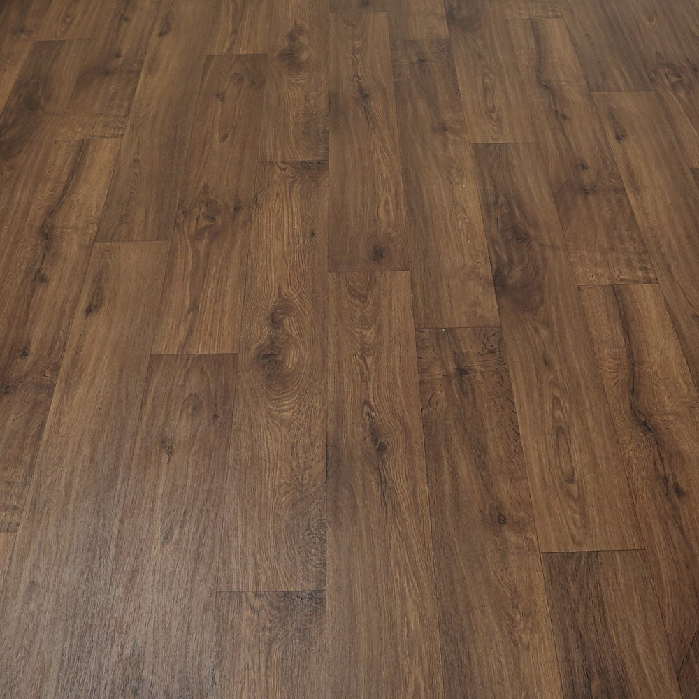 2m wide high quality vinyl flooring dark wood designs for Quality linoleum flooring