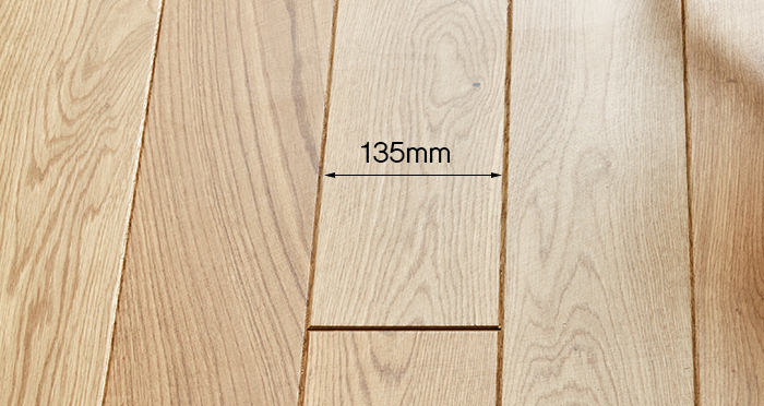 Carpenters Choice Oak 135mm Wide Lacquered Engineered Wood Flooring - Descriptive 2