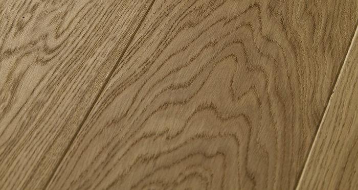 Carpenters Choice Oak 185mm Wide Brushed & Lacquered - Descriptive 1