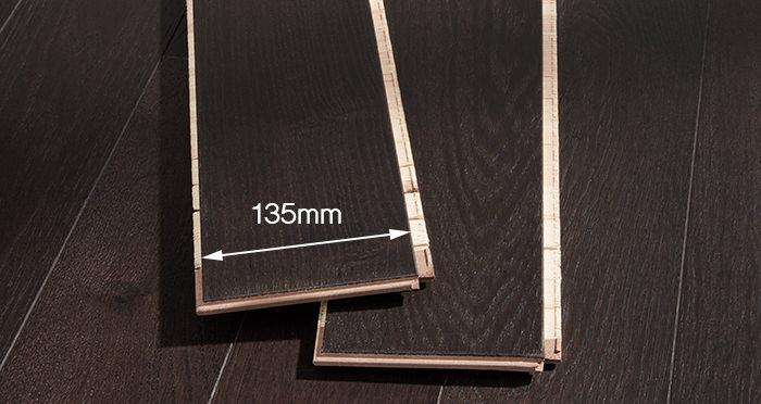 Kensington Espresso Oak Lacquered Engineered Wood Flooring - Descriptive 2