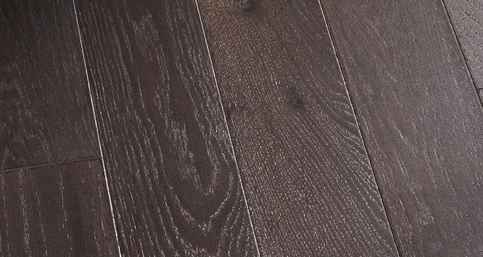 Kensington Espresso Oak Lacquered Engineered Wood Flooring - Descriptive 4