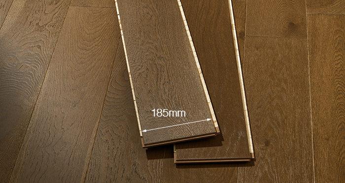 Mayfair Golden Fudge Oak Engineered Wood Flooring - Descriptive 2