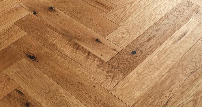 Marylebone Harvest Brown Oak Brushed & Oiled Engineered Wood Flooring - Descriptive 3