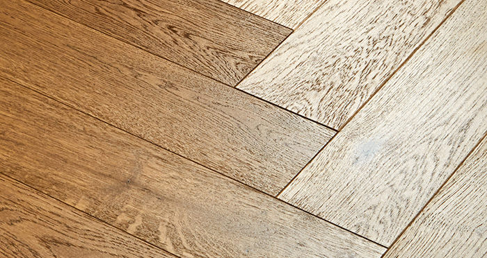 Marylebone Rich Toffee Oak Brushed & Lacquered Engineered Wood Flooring - Descriptive 2