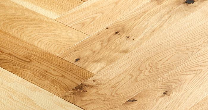 Marylebone Champagne Oak Brushed & Lacquered Engineered Wood Flooring - Descriptive 2
