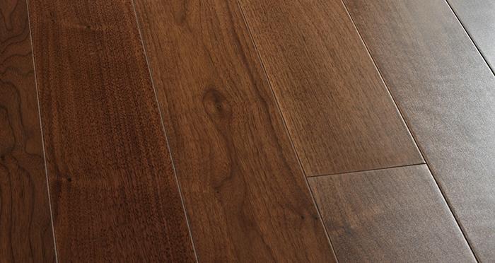 Salcombe Walnut Lacquered Engineered Wood Flooring - Descriptive 1