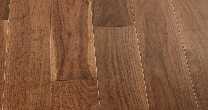 Salcombe Walnut Lacquered Engineered Wood Flooring - Descriptive 3