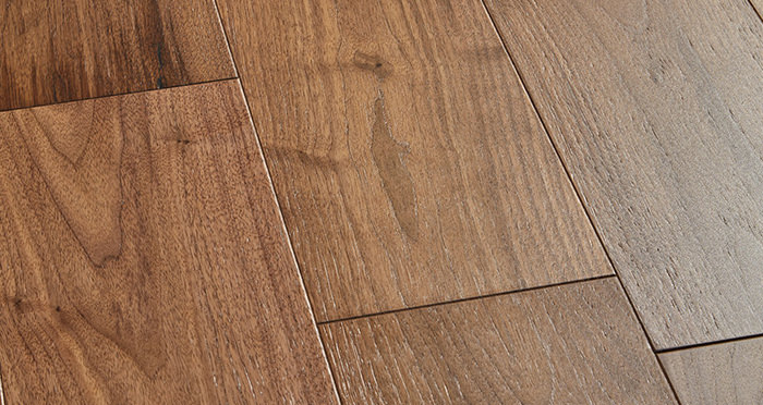 Mayfair Walnut Brushed & Lacquered Engineered Wood Flooring - Descriptive 1