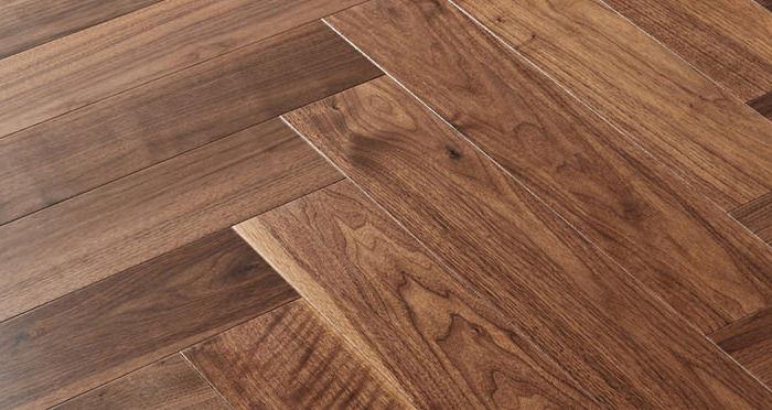 Marylebone Walnut Lacquered Engineered Wood Flooring - Descriptive 2
