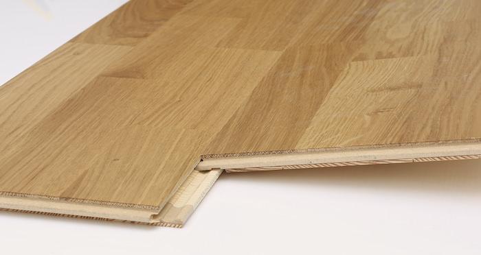 Washington Oak Lacquered Engineered Wood Flooring - Descriptive 2