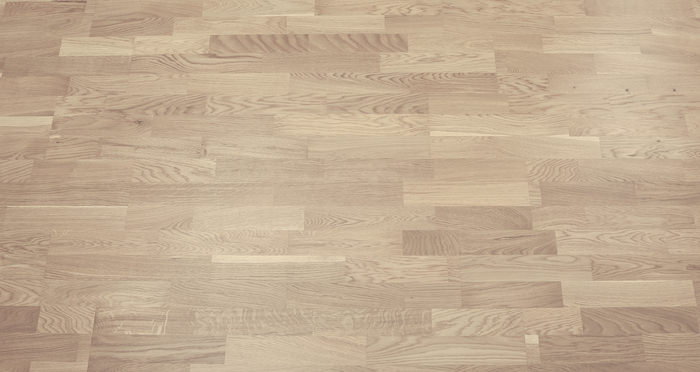Boston Oak Polar White Lacquered Engineered Wood Flooring - Descriptive 3