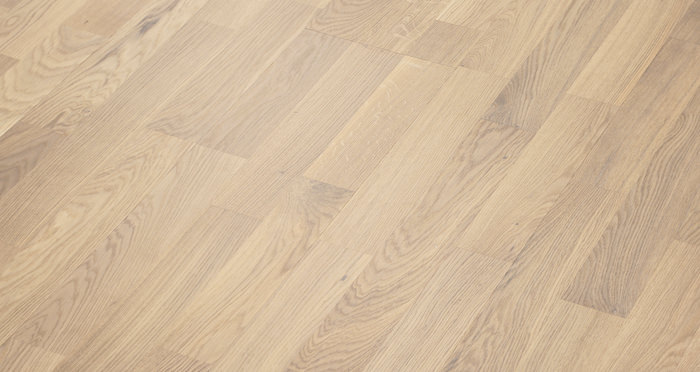 Boston Oak Polar White Lacquered Engineered Wood Flooring - Descriptive 7