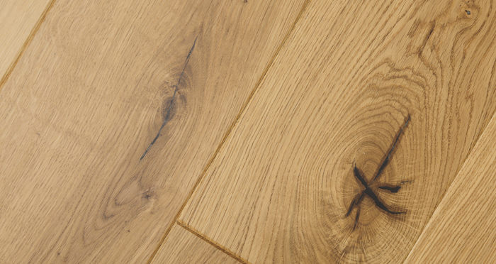 Knightsbridge Rustic Oak Lacquered Engineered Wood Flooring - Descriptive 8