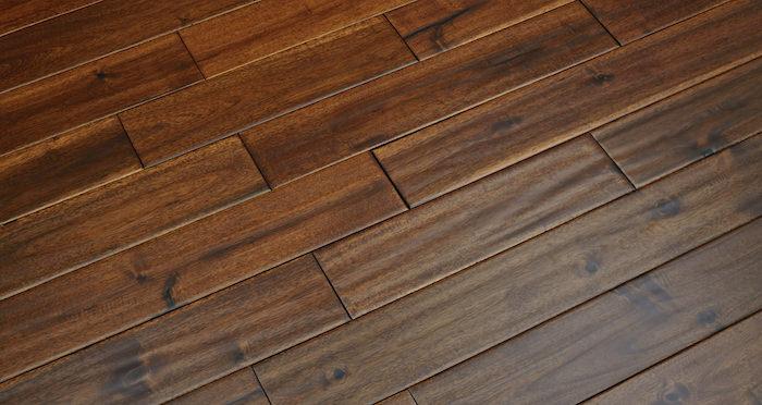 Deluxe Handscraped Acacia Solid Wood Flooring - Descriptive 5