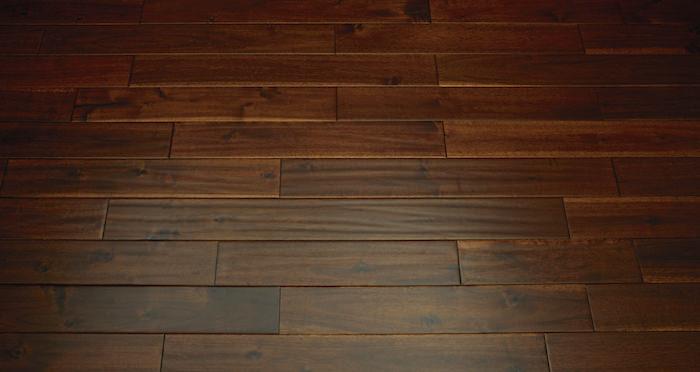 Deluxe Handscraped Acacia Solid Wood Flooring - Descriptive 6