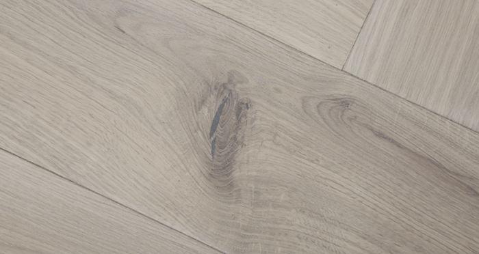 Prestige Herringbone Silk Grey Oak Oiled Engineered Wood Flooring - Descriptive 3