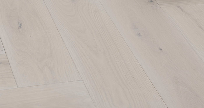 Prestige Herringbone Silk Grey Oak Oiled Engineered Wood Flooring - Descriptive 5