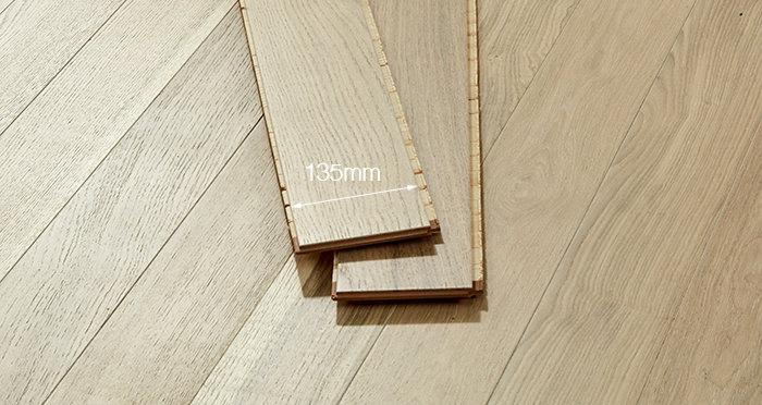 Salcombe Whitewashed Coastal Oak Engineered Wood Flooring - Descriptive 2