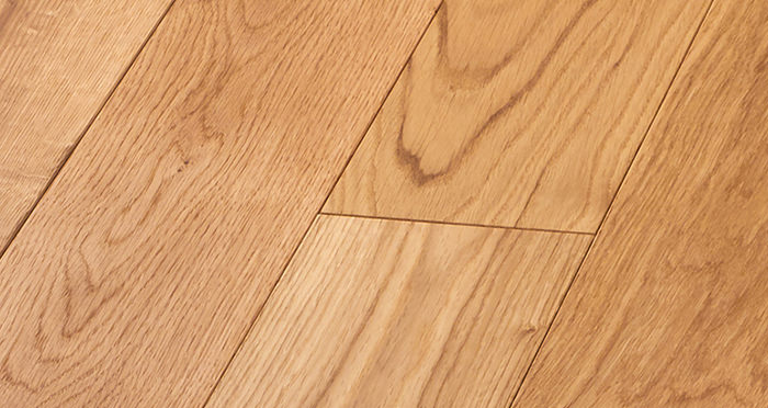 Deluxe Natural Oak Solid Wood Flooring - Descriptive 4