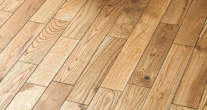 Castle Brown Oak 90mm Oiled Solid Wood Flooring - Descriptive 2