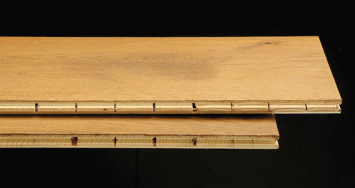Prestige Herringbone Golden Oak Oiled Engineered Wood Flooring - Descriptive 1