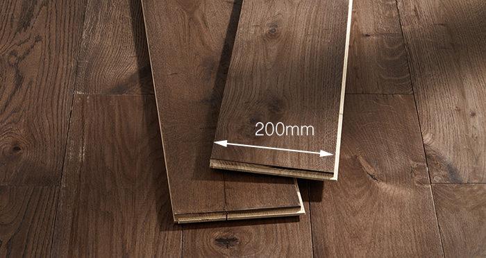 Prestige Espresso Oak Solid Wood Flooring - Descriptive 3