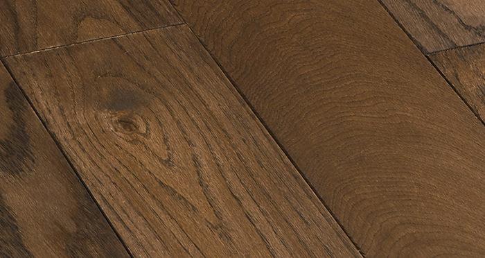 Deluxe Espresso Oak Solid Wood Flooring - Descriptive 2