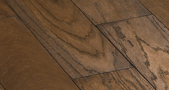 Deluxe Espresso Oak Solid Wood Flooring - Descriptive 4