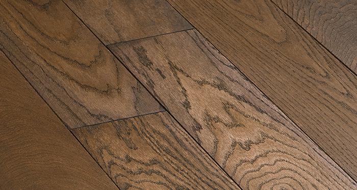 Deluxe Espresso Oak Solid Wood Flooring - Descriptive 5