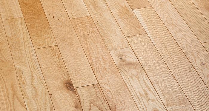 Natural Oak 90mm Oiled Solid Wood Flooring - Descriptive 2