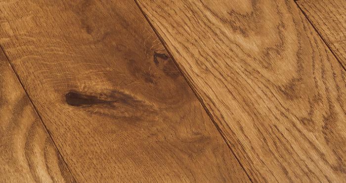 Deluxe Cinnamon Oak Solid Wood Flooring - Descriptive 2
