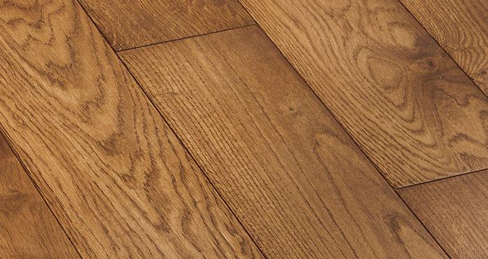 Deluxe Cinnamon Oak Solid Wood Flooring - Descriptive 4