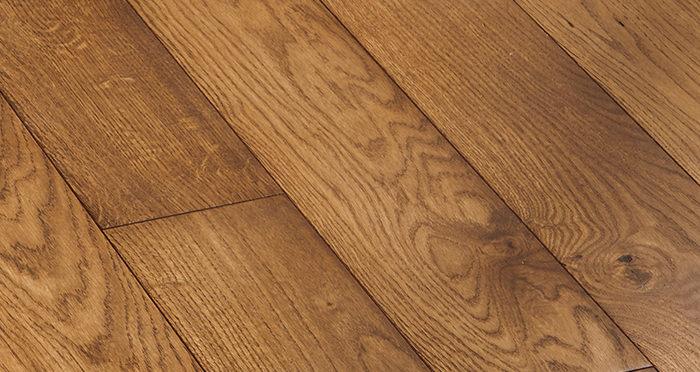 Deluxe Cinnamon Oak Solid Wood Flooring - Descriptive 5