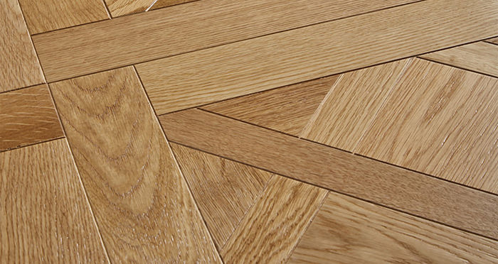 Avignon Natural Oak Brushed & Oiled Versailles Tile Engineered Wood Flooring - Descriptive 1