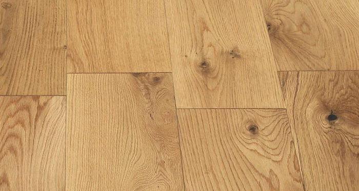 Manhattan Natural Oak Lacquered Engineered Wood Flooring - Descriptive 5